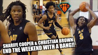 Download Sharife Cooper & Christian Brown END THE WEEKEND WITH A BANG at #IHTOC!! | COMBINE for 50+ Video