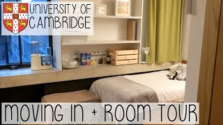 Download MOVING INTO CAMBRIDGE UNIVERSITY VLOG | SAYING GOODBYE, UNPACKING & ROOM TOUR Video
