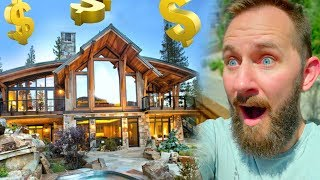 Download $1,000,000 Log Cabin For a Week! Video