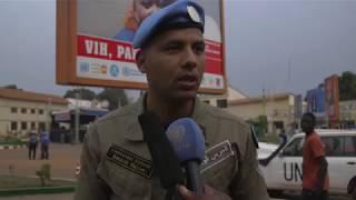 Download Patrouilles conjointes de securisation de Bangui Video