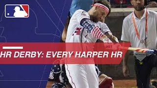 Download Bryce Harper belts 45 HRs en route to 2018 Derby win Video