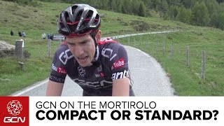 Download Is A Compact Faster Than A Standard Chainset? GCN Vs. The Mortirolo | Giro D'Italia 2015 Video