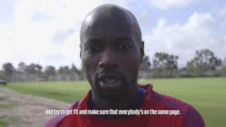 Download U.S. MNT Players React Following 2017 January Camp Day One Video