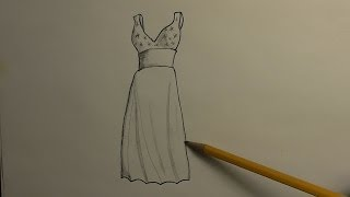 Download How to Draw a Prom Dress Video