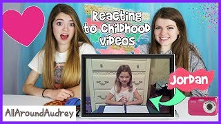 Download Reacting To Our Childhood Videos / AllAroundAudrey Video