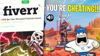 Download I HIRED A FORTNITE MOBILE COACH THAT THOUGHT I WAS CHEATING *Pro Player CARRIES Coach* Video