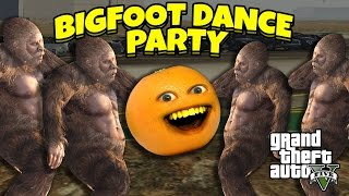 Download Annoying Orange - GTA V: Bigfoot Dance Party! Video