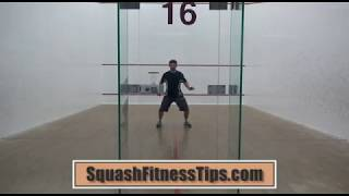 Download Squash Fitness Tip: Fast-Footwork Around The Court! Video