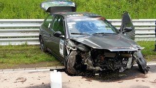 Download BIG Crash & Fail Compilation 2015 Nürburgring Nordschleife Video