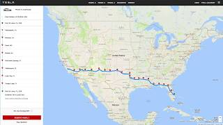 Download How Much Does it Cost to Drive a Tesla Model 3 From California to Florida using only Superchargers? Video
