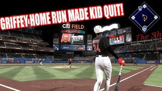 Download 99 KEN GRIFFEY HOME RUN MADE KID RAGE QUIT! - MLB The Show 17 Diamond Dynasty Gameplay Video