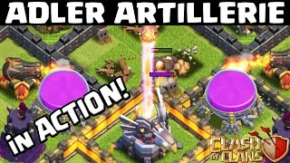 Download ADLER ARTILLERIE! NEUE VERTEIDIGUNG || CLASH OF CLANS || LP CoC [Deutsch/German HD+] Video