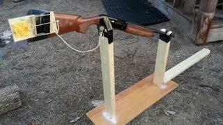 Download Hillbilly Gopher Trap - 12 gauge, fishing string, rat trap Video
