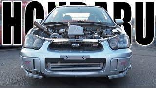 "Download ""HondaRu″ - BoostedBoiz Honda Powered WRX STI Video"