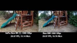 Download Eken H8R vs GoPro Hero HD (4K) Video