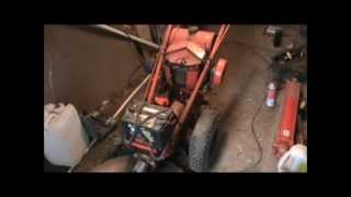 Download gravely l-8 super convertible Magneto/timing, and first start. Video