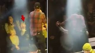 Download Luke Bryan Strikes Taunting Fan. Video
