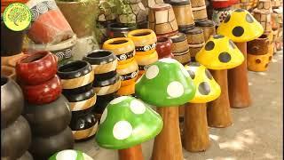 Download Feria de las flores y artesanías plaza de San Nicolas 2018 Video