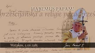 Download Habemus Papam [188]: Wiara chrześcijańska a religie pozachrześcijańskie Video