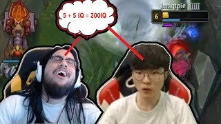 Download Faker's And Imaqtpie's 200 IQ Plays | Shiphtur Sees Sion 180 ULT | Saint Vicious | Tobias Fate | LoL Video