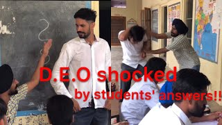 Download D.E.O shocked by students' answers!! Producerdxxx Video