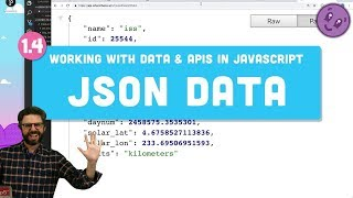 Download 1.4: JSON - Working with Data and APIs in JavaScript Video