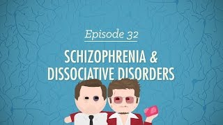 Download Schizophrenia and Dissociative Disorders: Crash Course Psychology #32 Video