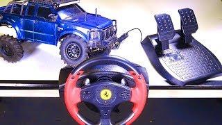 Download RC ADVENTURES - RACE WHEEL MOD - for RC! Playstation, XBox, PC, RC? Thrustmaster - Radio - Spektrum Video