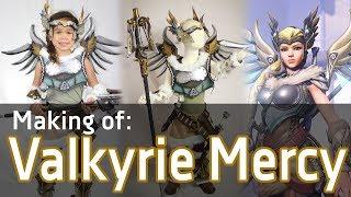 Download [Tutorial] Making of: Valkryie Mercy Cosplay - Overwatch Video