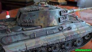 Download German KING TIGER 1:16 scale full metal DIECAST model (Limited Edition) Video