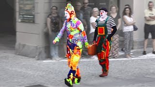 Download Karcocha & Lois - awesome street artist at Mirabilia Fossano (CN) Italy Video