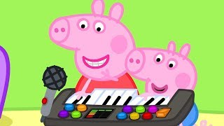 Download Peppa Pig Official Channel ⭐️ New Season ⭐️ Peppa Pig Plays Funny Music Video
