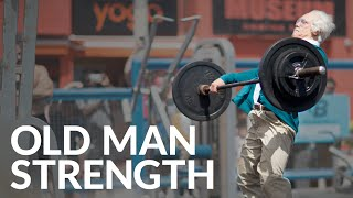 Download Old Man Strength At Muscle Beach Video