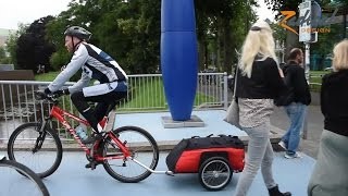 Download Bicycle Trailer Cyclone - The Expedition and Long Distance Bike Trailer | Radical Design Video