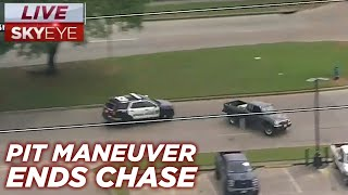 Download RAW: PIT Maneuver Ends High Speed Police Chase in Houston Video