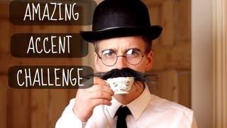 Download The Amazing Accent Challenge | ThatcherJoe Video