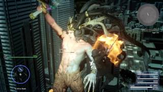 Download Final Fantasy XV Ifrit Boss Fight Video