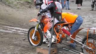 Download AMA Pro Hillclimb Triumph T140 Nitro methane Video