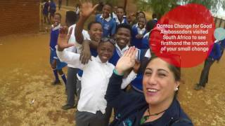 Download Qantas Change for Good with UNICEF Visit South Africa Video