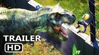 Download JURASSIC WORLD Evolution Video GAME Trailer (2018) Video
