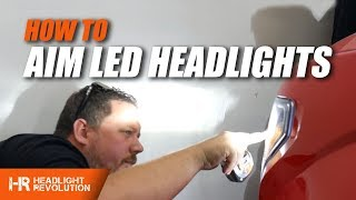 Download How To Properly Aim LED Headlights | Headlight Revolution Video