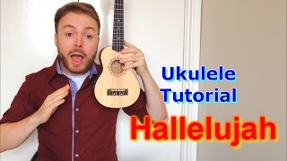 Download Hallelujah (Leonard Cohen/Jeff Buckley/Alexandra Burke) Ukulele Tutorial Video