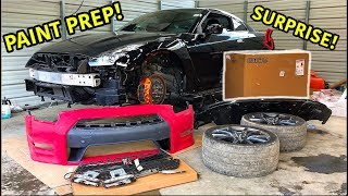 Download Rebuilding A Wrecked 2013 Nissan GTR Part 4 Video