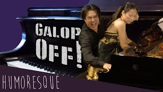 Download Galop Off! Hyung-ki Joo and Yu Horiuchi Galloping to Ganz's Galop, ″Qui Vive!″ Video