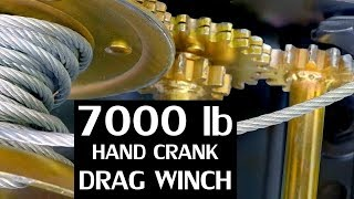 Download DIY Hand Crank Tow Winch ($35 Ebay winch mod) Video