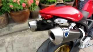 Download ducati monster 795 Termignoni Exhaust Video