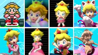 Download Evolution of Peach Characters in Mario Kart Games (1992-2017) Video