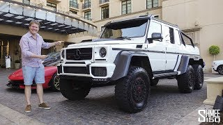 Download The Brabus G700 6x6 is the Beast of Beverly Hills! Video