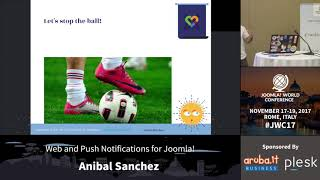 Download Web and Push Notifications for Joomla! - Anibal Sanchez Video
