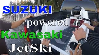 Download JS550 with Suzuki 640 engine... Suzuki powered Kawasaki?! Video